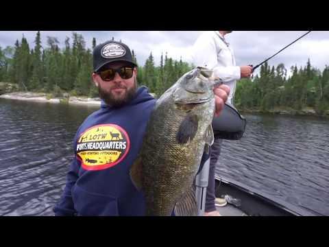 Q Lake Lodge Small Mouth Bass (SURPRISE CATCH)
