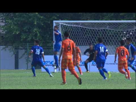 ACT2015 Highlight Felda United vs AIFF India
