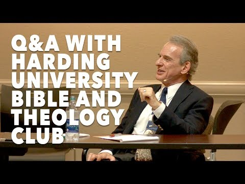 Q&A with Bible and Theology Club | Harding University - February 2018