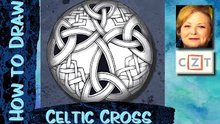 How to Draw a Celtic Cross!