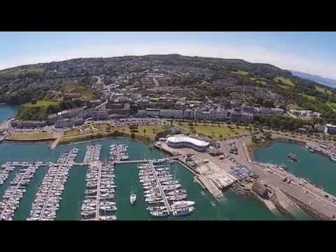 Flying Over Howth Harbour