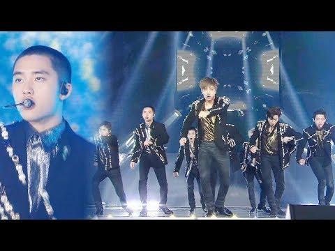 EXO, 가요대전 대미를 장식하는 제왕의 무대 'Power' @2017 SBS 가요대전 2부 20171225