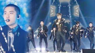 EXO 가요대전 대미를 장식하는 제왕의 무대 Power 2017 SBS 가요대전 2부 20171225