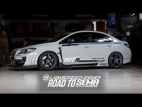 Subispeed / RAYS - 2018 SEMA Build - Subaru STI - Gram Lights 57CR
