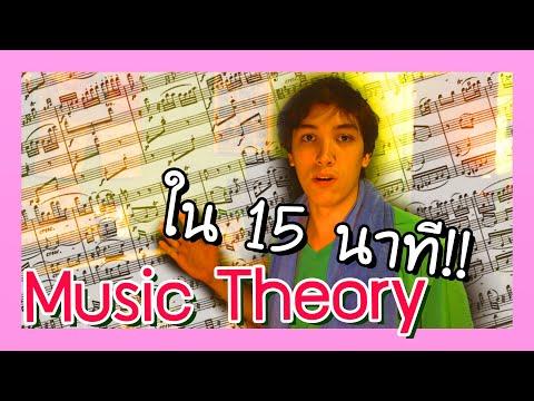 สอนทฤษฎีดนตรีเบื้องต้น สำหรับการทำเพลงใน 2020!! | BADDAY