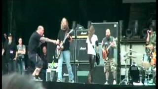 DOWN - Stone the crow - live in bucharest 2010 ( multicam edit)
