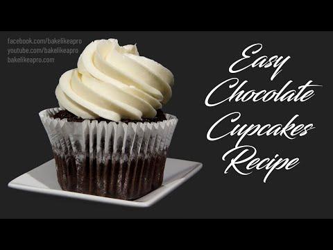 Easy Chocolate Mocha Cupcakes Recipe