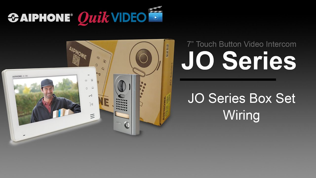 maxresdefault jo series box set installation youtube aiphone jo-1md wiring diagram at crackthecode.co
