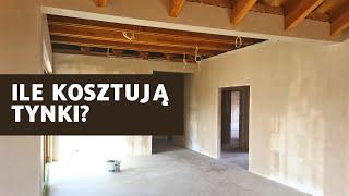 Ile kosztują tynki ? Budowa domu DAKOTA III