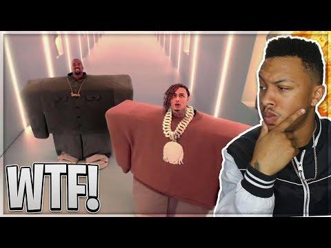 """Kanye West & Lil Pump ft Adele Givens - """"I Love It""""    Reaction"""