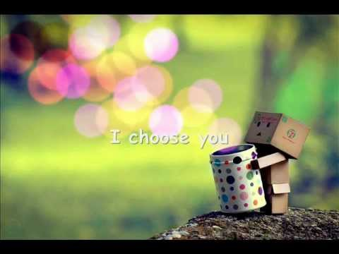 I Choose You - Mario - Lyrics