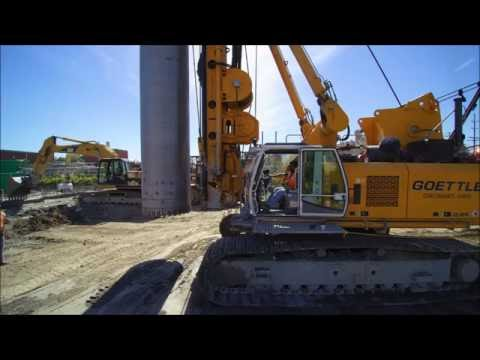 ECA Equipment Corporation of America in Binghamton with Goettle and BAUER BG rigs
