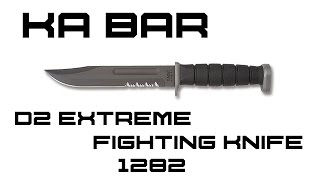 Ka Bar D2 Extreme Fighting Knife Review | KnifeHog
