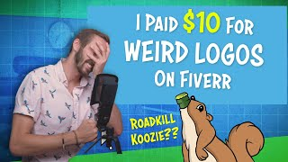 I Paid $10 for WEIRD Website Logos on Fiverr | LOOK AT THESE LOL