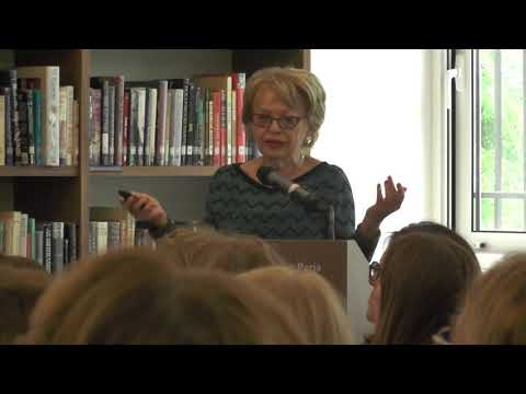 Susan Suleiman @ The American Library in Paris   7 June 2017
