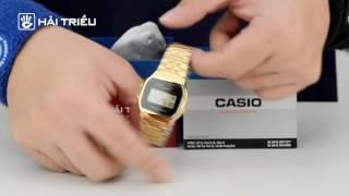 Review Casio - A159WGEA-1DF [Đồng Hồ Hải Triều]