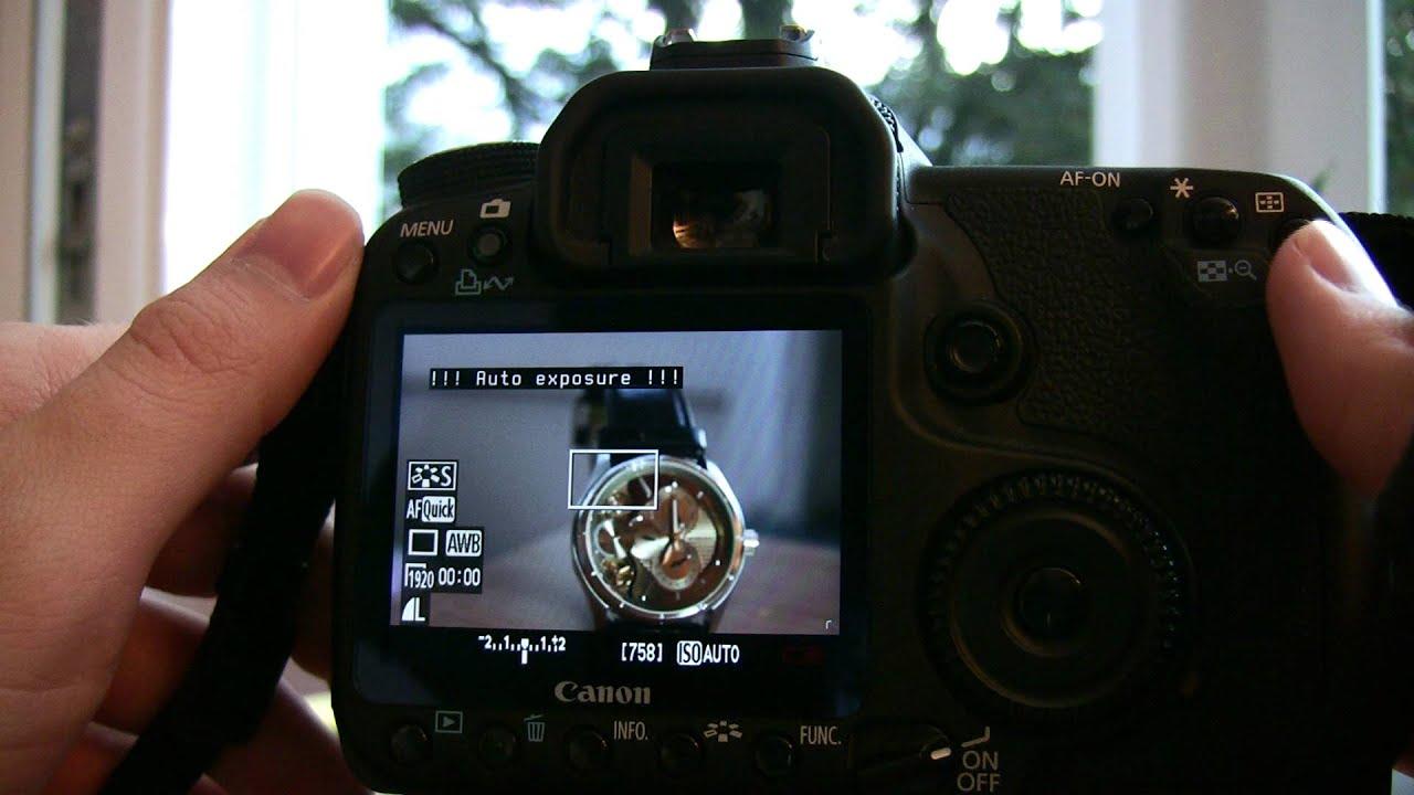 Video - 50D movie recording with Magic Lantern   Magic Lantern