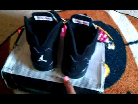 [Good-Seller] Air Jordan 5 Black/Metallic (jumpman Fix)