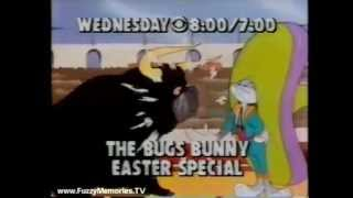 CBS The Bugs Bunny Easter Special Promo 1980