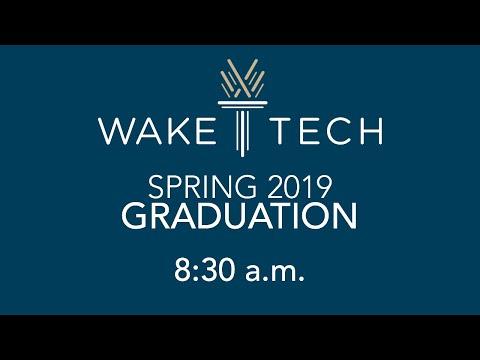 Wake Tech 2018 Fall Graduate Chris Pucci Youtube