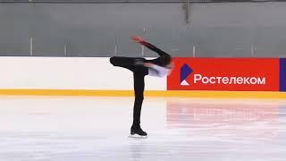 Всероссийские соревнования 'Надежды Росс Юнoши, KMC Произвольная программа 23# Георгий КУНИЦА  МОС