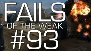 Fails of the Weak: Ep. 93 - Funny Halo 4 Bloopers and Screw Ups!   Rooster Teeth