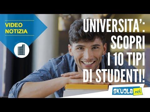 Studenti universitari: ecco le 10 tipologie