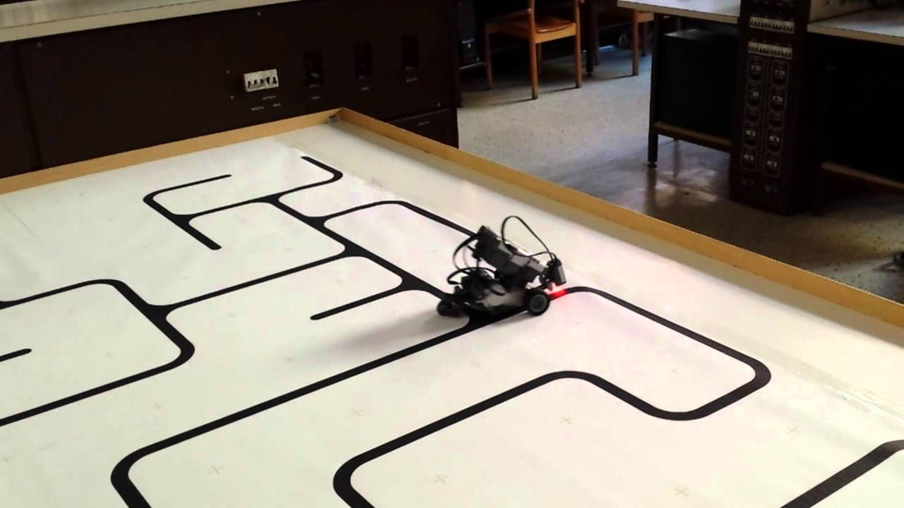 Lego NXT - Maze line following using PID controller with ...