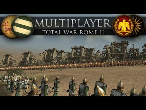 Attack on the Ultimate Noob Fort (Total War: Rome II Online Battle #236)