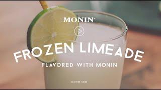 Monin Frozen Limeade