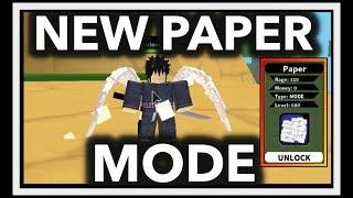 HOW TO GET KONAN PAPER MODE| NEW PAPER MODE SCROLL SHOWCASE| ROBLOX Naruto RPG- Beyond |