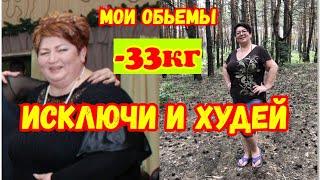 постер к видео Исключила и похудела//  минус33кг  похудеть после 45 РЕАЛЬНО