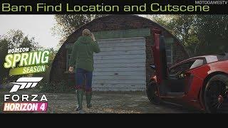 Forza Horizon 4 - Spring Season Barn Find Location and Cutscene