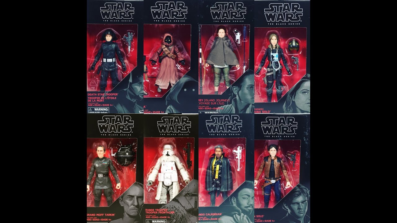 Star Wars The Black Series Han Solo Figures And More Review May The 4th Special
