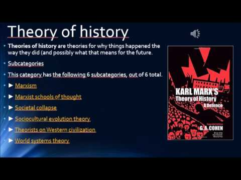 history, theory of history and historiography