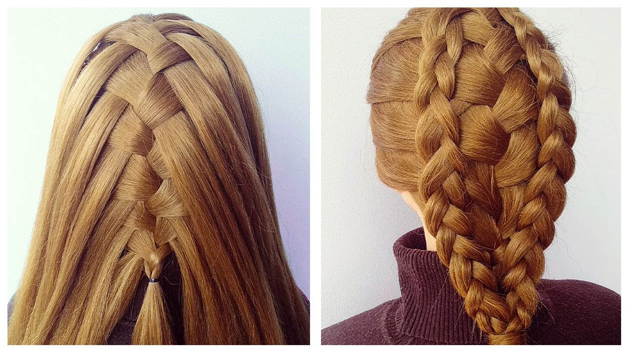 Super Easy Braided Hairstyle with Trick ❤ New hairstyle for girls ❤ Tuto Coiffure Simple avec tresse