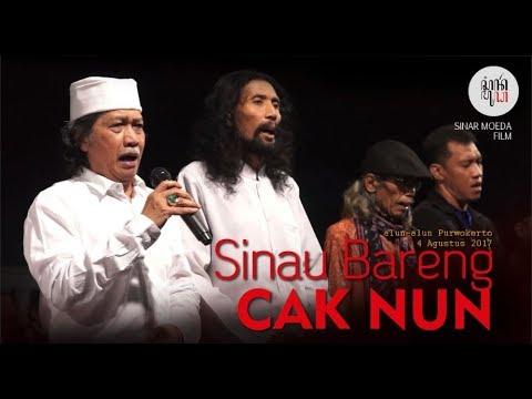 Bikin Merinding pesan Sakral dari  Lagu Syukur Sinau bareng Caknun di Alun-alun purwokerto  2017