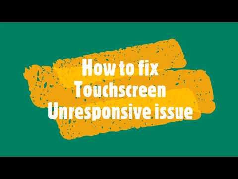 Android Device touchscreen is unresponsive issue [Fixed]