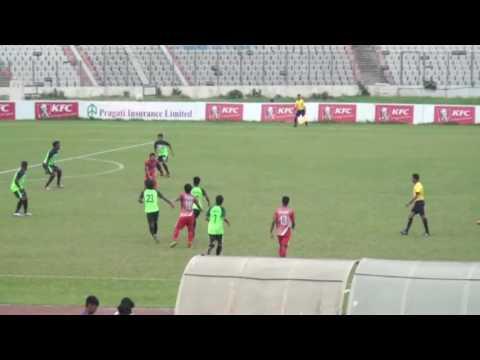 Team BJMC Club vs Soccer Club Feni KFC Independence Cup 2016