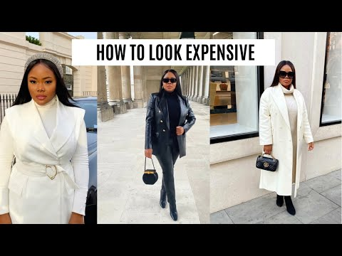 HOW TO LOOK EXPENSIVE & CLASSY ON A BUDGET 2021 |  ELEVATE YOUR STYLE