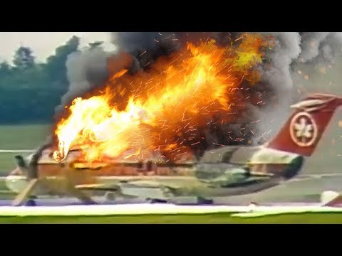 Desperate Escape | Plane Catches Fire After Landing | Air Canada Flight 797 | 4K