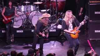 "RANDY RHOADS REMEMBERED-Jeff Watson & Joel Hoekstra ""Over the Mountain"""