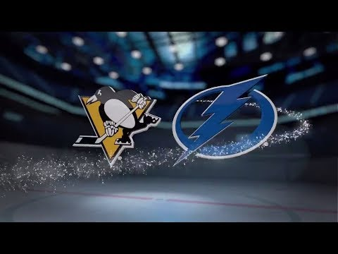 Pittsburgh Penguins vs Tampa Bay Lightning - October 12, 2017 | Game Highlights | NHL 2017/18.Обзор.