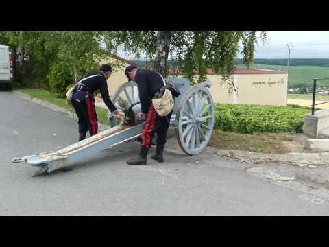 Le Poilu de la Marne - tir du canon de 75