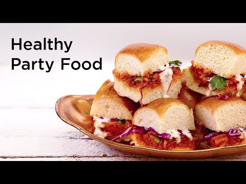 7 Healthy Party Food Recipes