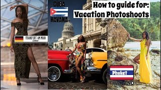 How to book a vacation photoshoot | Travel Photography