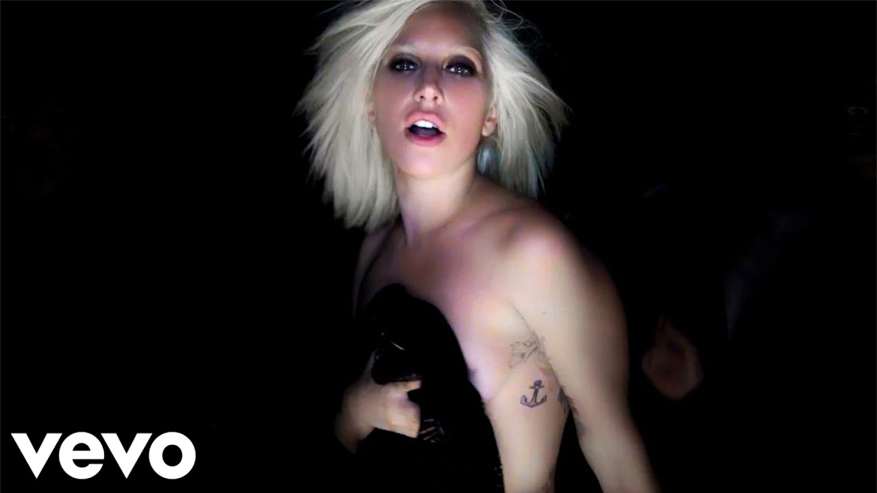 lady gaga official music videos