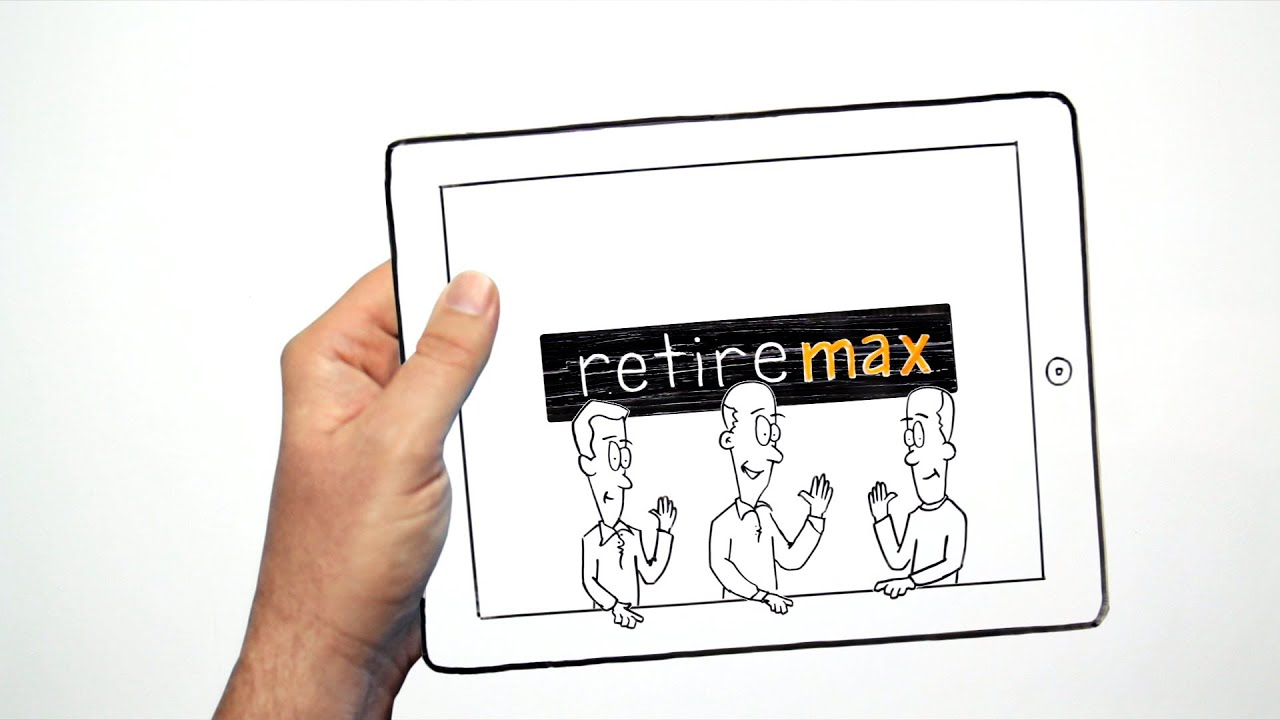 What is the RetireMax iPad App? (Whiteboard Animation)