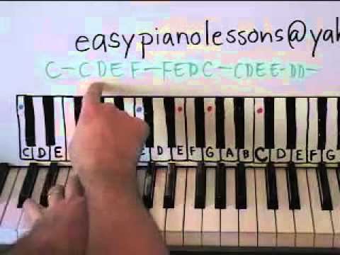 Lean On Me Piano Lesson Youtube