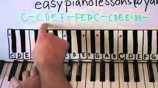 Lean on Me Piano Lesson